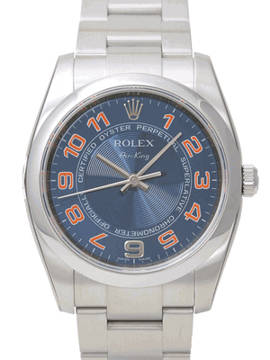 Rolex Air-king Series Mens Automatic Wristwatch 114200-BLCOAO
