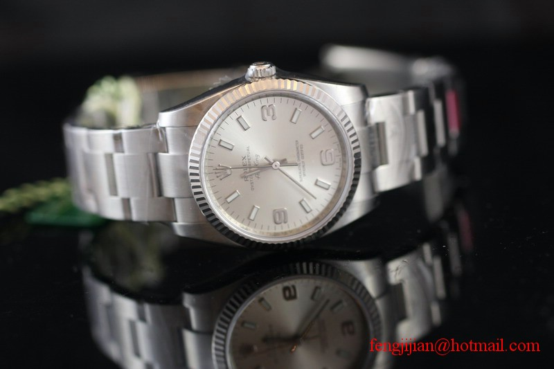 Rolex Steel Air-King Watch 114234-70190