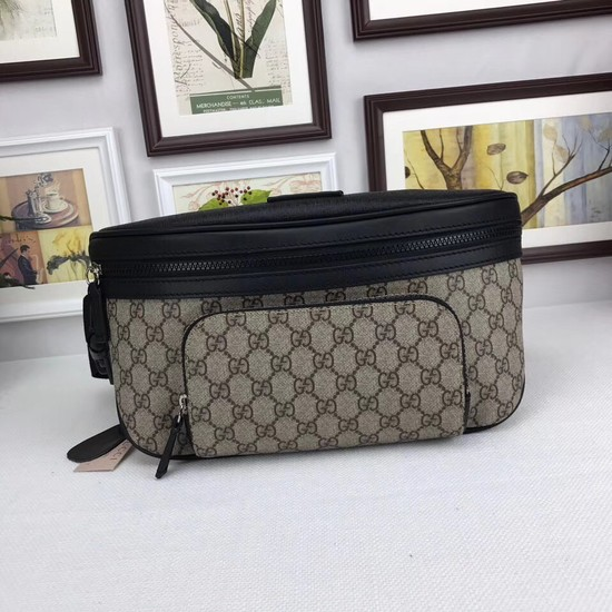 Gucci Soft GG Supreme belt bag 406372 black