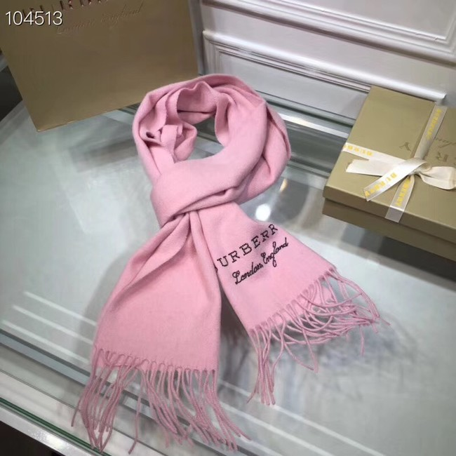 Burberry lambswool & cashmere scarf 71156 pink
