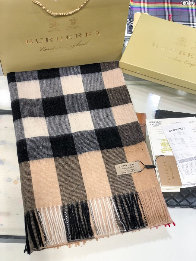 Burberry Cashmere Classic Giant Check Scarf 3598