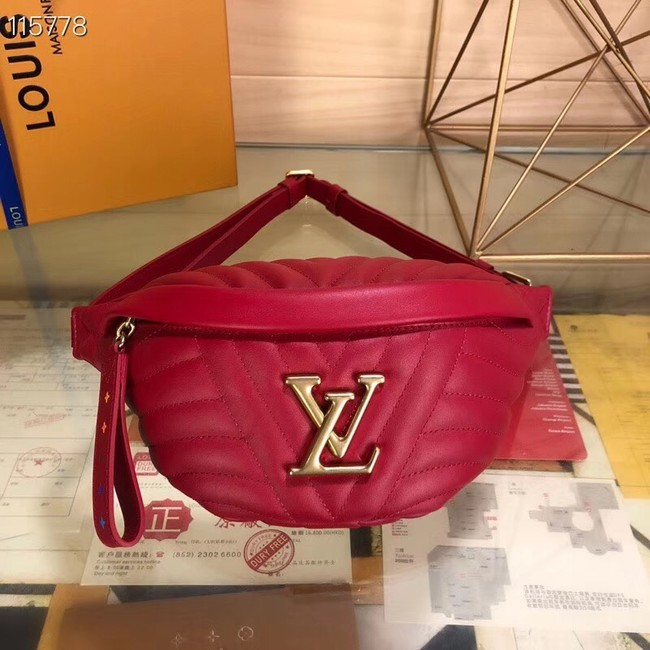 Louis Vuitton Original NEW WAVE M53750 red
