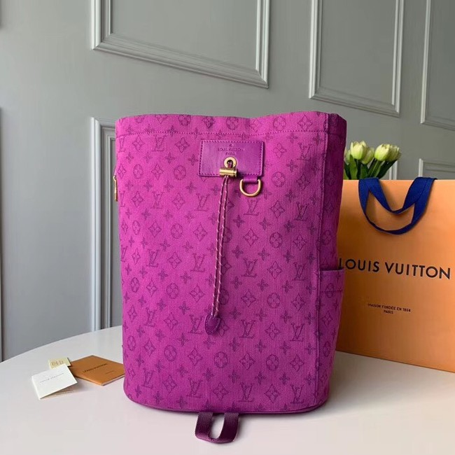 Louis vuitton original Monogram Denim CHALK M44617 purplish