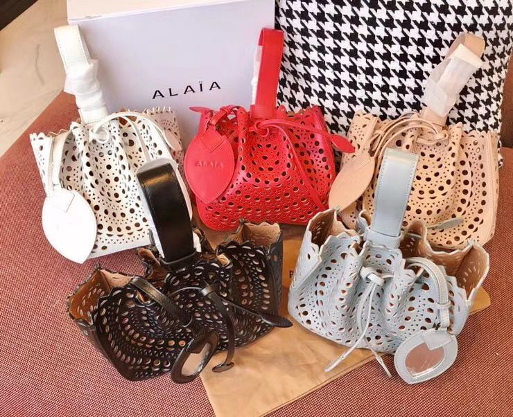 Alaia Openwork Original Leather Tote Bag A3659