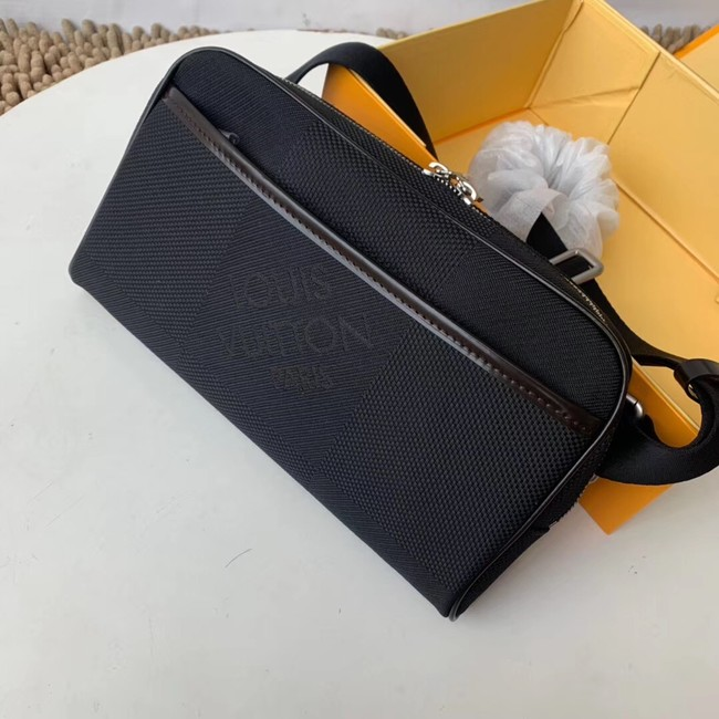 Louis vuitton original BUMBAG Pocket M93619 black