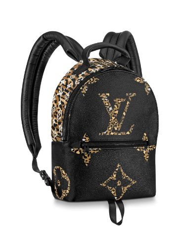 Louis Vuitton Original PALM SPRINGS Backpack M44718 black