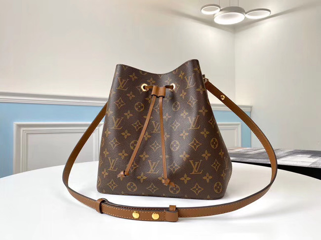 Louis Vuitton Monogram Canvas Neonoe Original Leather M44887 brown