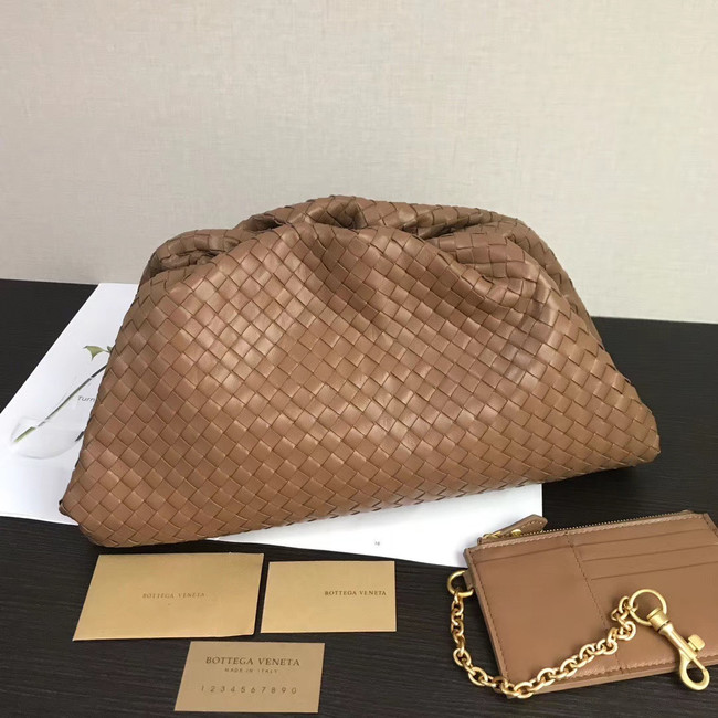 Bottega Veneta Weave Clutch bag 585853 brown