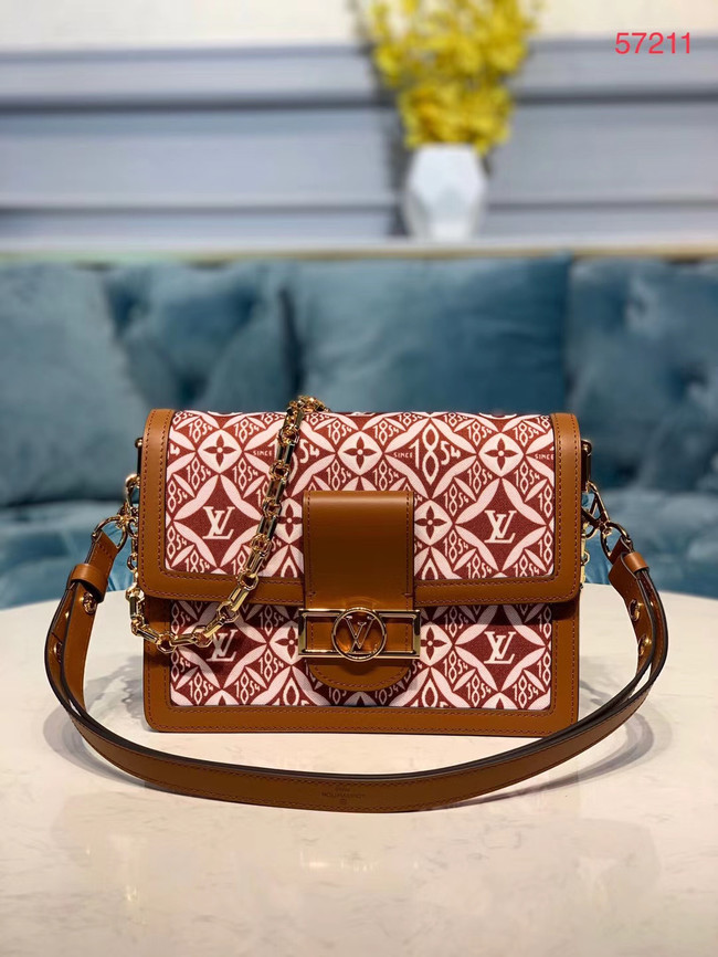 Louis Vuitton DAUPHINE M57211 brown