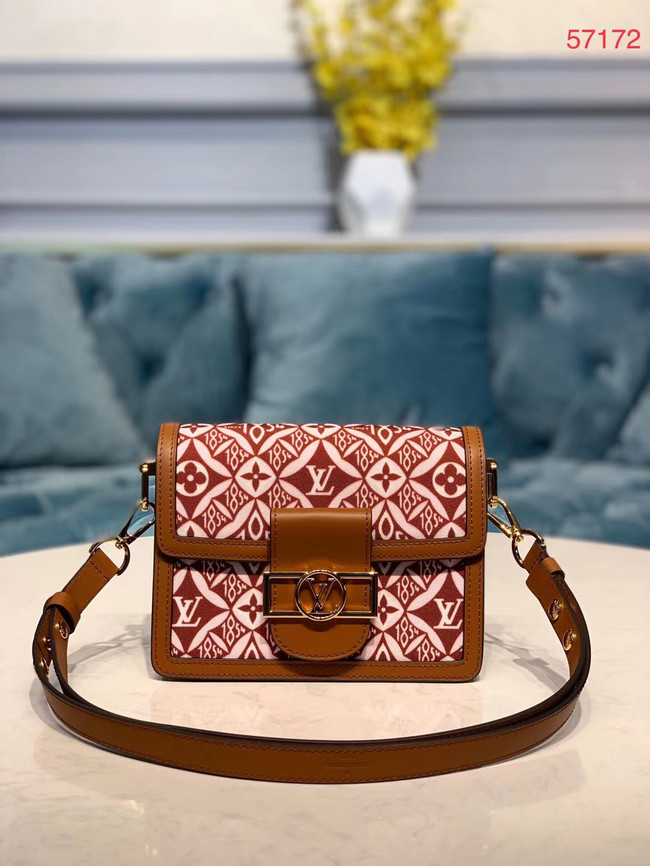 Louis Vuitton MINI DAUPHINE M57212 brown