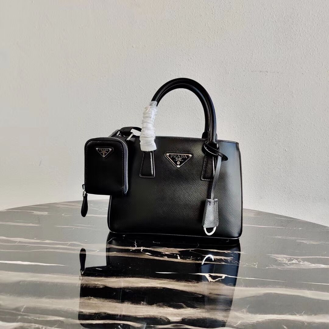 Prada Saffiano leather mini-bag 1BA296 black