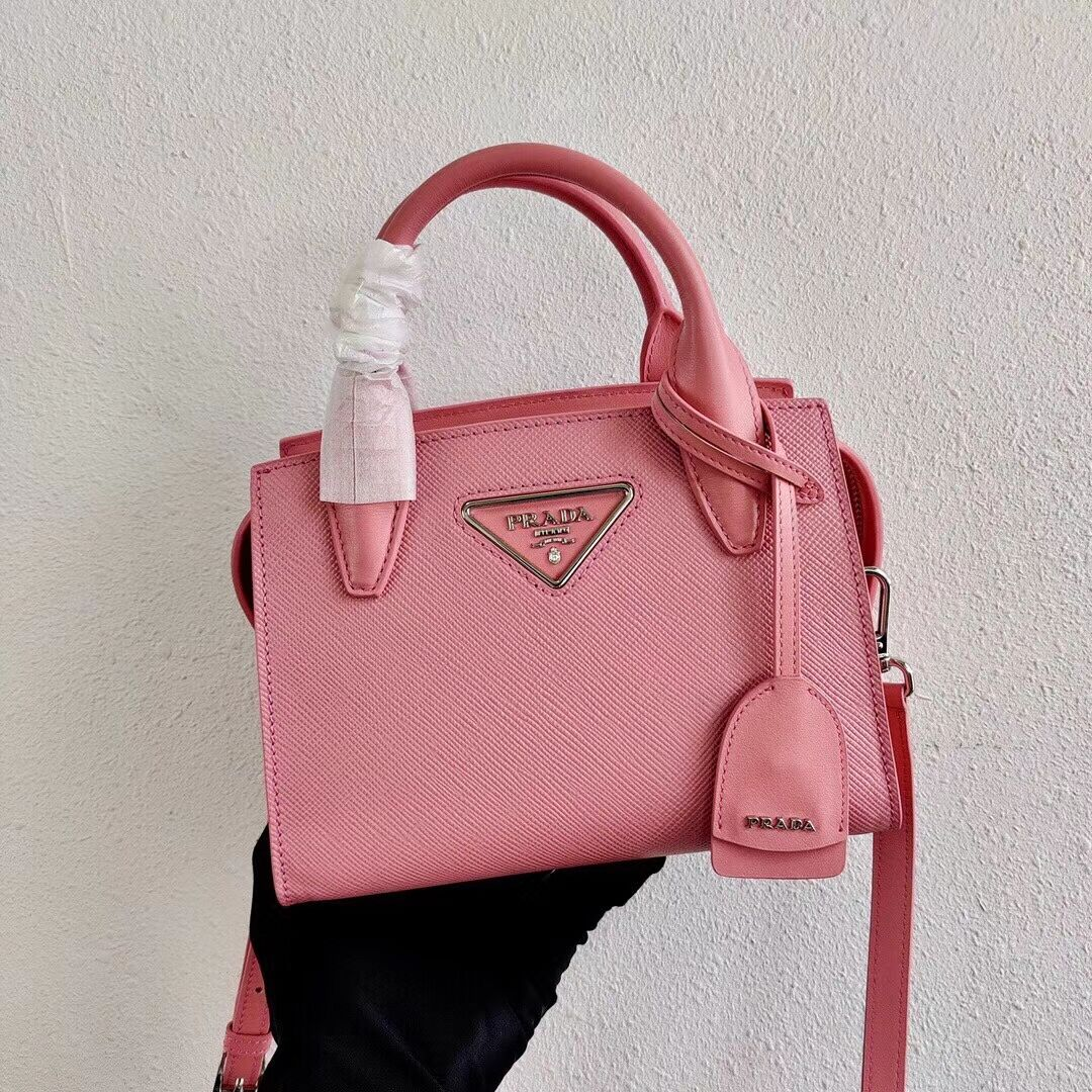 Prada Saffiano leather mini-bag 2BA269 pink
