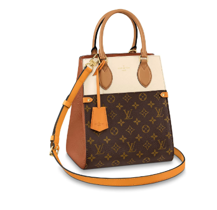 Louis Vuitton Original FOLD TOTE medium M45409 brown&Beige