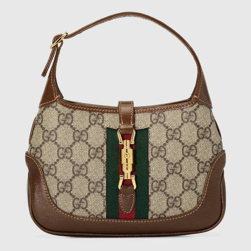 Gucci Jackie 1961 mini hobo bag 637092 brown