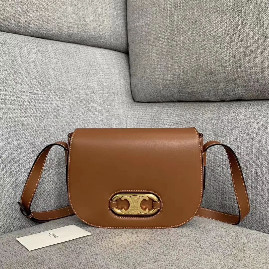 CELINE Original Leather Bag CL93123 brown