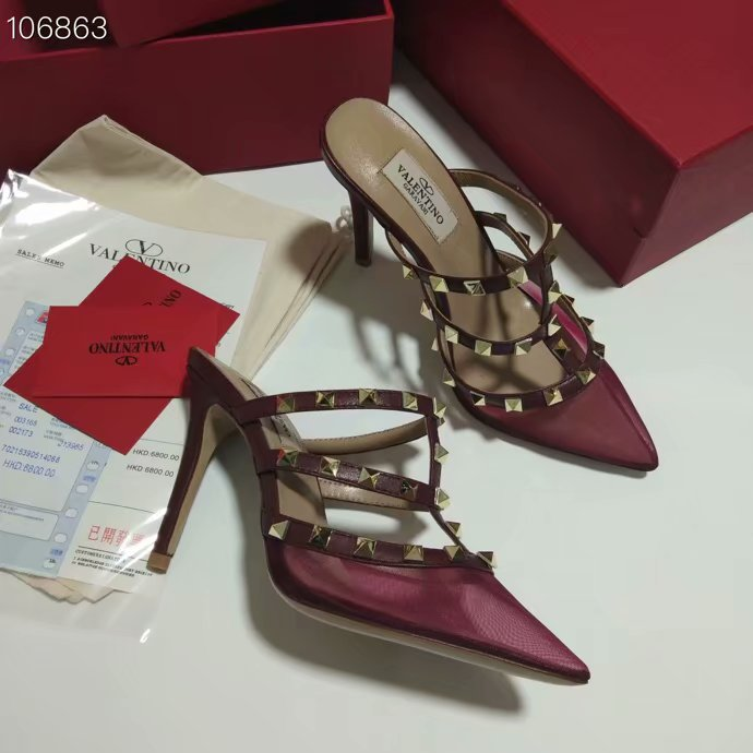 Valentino Shoes VT1028GC height 10CM