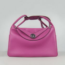 Hermes Lindy 34CM Shoulder Bag Peachblow