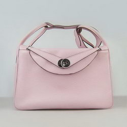 Hermes Lindy 34CM Shoulder Bag 6208 Pink