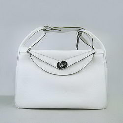 Hermes Lindy 34CM Shoulder Bag 6208 White