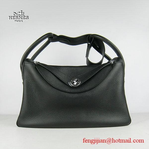 Hermes Women Shoulder Bag Black 6208